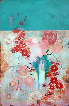Kathe Fraga - When Love Blooms - 36x24