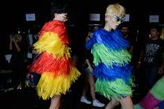 #Frange #Fringes #colors #fashion seen on COLLEZIONI TRENDS www.collezioni.info