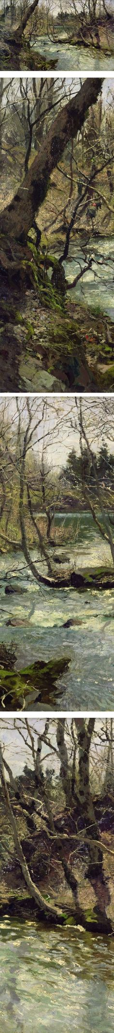 Eye Candy for Today: Thaulow's river