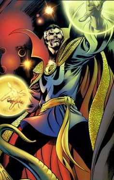 Benedict Cumberbatch is about to make his entry into the Marvel universe! After months of rumors, Marvel has confirmed that he'll play Doctor Strange in the Marvel Comic Character, Comic Book Characters, Marvel Characters, Marvel Movies, Comic Books Art, Comic Art, The Stranger, Doctor Stranger Movie, Marvel Doctor Strange