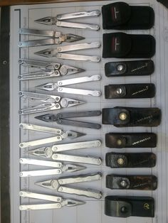 SUBMISSION: Leatherman assorted pocket tools