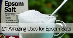 We use epsom salt (affiliate) a lot at our house. It is a good source of magnesium (here's why we love magnesium) and has dozens of household uses. Here are our favorites: 1. As a relaxing Magnesium Bath Soak – Add at least 1 cup of epsom salt to a warm bath and soak for 20 …