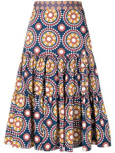 La Doublej Printed Full Skirt - Women's style: Patterns of sustainability