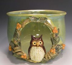 Pottery Luminary Orane by claynestpottery on Etsy, $70.00 -- I love this, but very expensive. sigh.