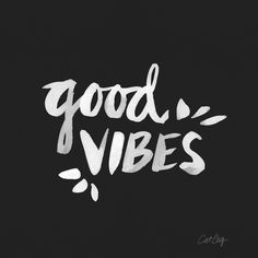 Good vibes in Typography