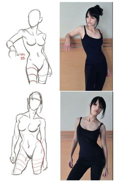 Drawing Poses Female Anatomy Reference 19 Ideas For 2020 Human Figure Drawing, Figure Drawing Reference, Anatomy Reference, Art Reference Poses, Female Reference, Figure Drawing Tutorial, Figure Drawings, Character Reference, Photo Reference