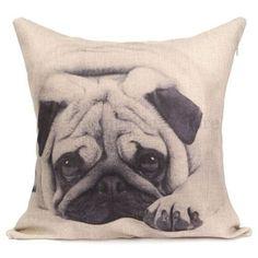 U.S. SELLER 3D Dog print Home Bed Decor Cushion Pillow Throw Cover Case #Handmade