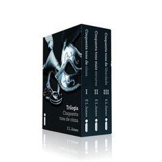 Box Trilogia Cinquenta Tons de Cinza (Cinquenta Tons de Cinza, Cinquenta Tons Mais Escuros e Cinquenta Tons de Liberdade) - http://batecabeca.com.br/box-trilogia-cinquenta-tons-de-cinza.html