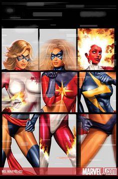 Even if she isn't a mutant… Carol Danvers gets props…
