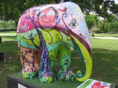 Pin Elephant Parade Exposities In Londen En Dierenpark Emmen De ...