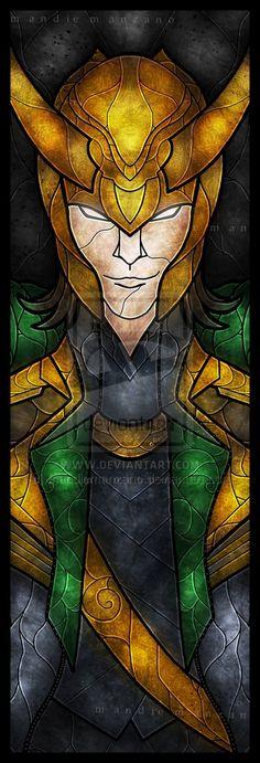 God of Mischief by mandiemanzano.deviantart.com