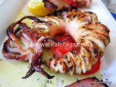 Grilled Tender Calamari and Cumin