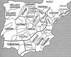 Ancient Spain with no Catalan territory is nut case! Interestingly the Vascones, or Basques, still inhabit the same region today, speak the language preserved through time. Roman History, European History, World History, In Ancient Times, Ancient Rome, Ancient History, Celtic Culture, Historical Maps, Picts