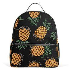 JSTEL Pineapple School Backpacks for Boys Girls Bookbag J...