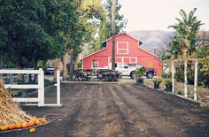 The classic barn that once housed Mr. Ed - located at 22049 Devonshire Street, Chatsworth, CA
