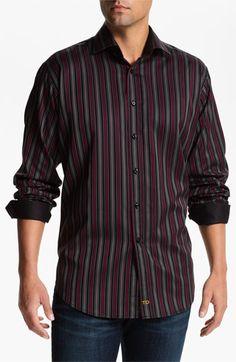 Thomas Dean Regular Fit Sport Shirt | Nordstrom