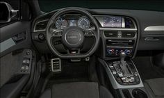2014 Audi S4 comes in 6 speed manual or 7 speed automatic