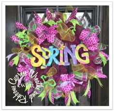 In Stock $59.00 Colorful Spring Wreath