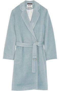 Acne Studios   Elga alpaca and wool-blend coat   NET-A-PORTER.COM