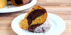 Pumpkin-Chocolate Swirl Cake