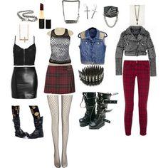 80's punk fashion for women - Google Search