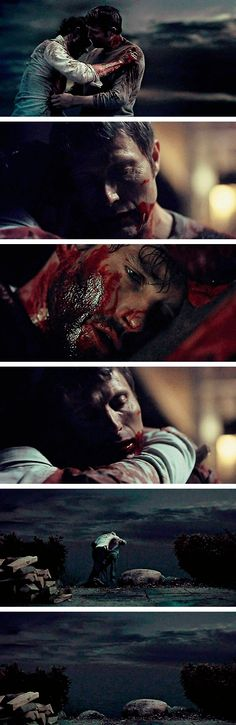Soon all of this will be lost to the sea. Hannibal 3x13 The Wrath of the Lamb. Source: bosswaldcobblepot.tumblr