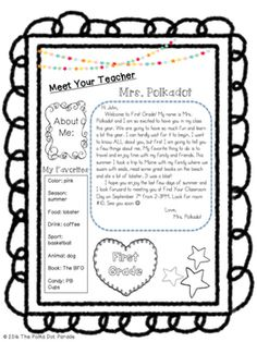 letter to welcome kids to sunday school