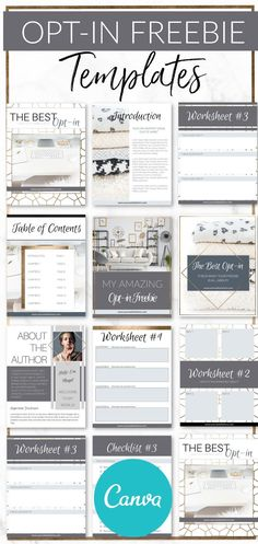 Get your hands on these stunning Gold Lead Magnet Templates for Canva and InDesign! Quickly create the Lead Magnet of your client's and readers' dreams! E-mail Marketing, Content Marketing, Marketing Strategies, Internet Marketing, Online Marketing, Lead Magnet, Make Money Blogging, Earn Money, Business Inspiration