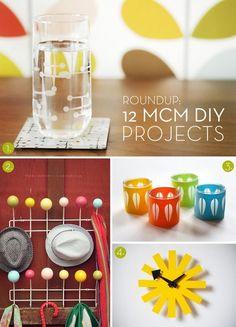 Via Curbly | 12 Mid-Century Modern DIY Projects | Tutorials: http://www.curbly.com/users/capreek/posts/13910-roundup-12-mid-century-modern-diy-projects