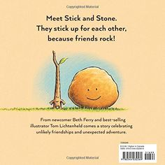 Stick and Stone –  by Beth Ferry  (Author), Tom Lichtenheld  (Illustrator)