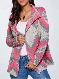 GET $50 NOW | Join RoseGal: Get YOUR $50 NOW!http://www.rosegal.com/sweaters/geometric-print-cardigan-783552.html?seid=7187010rg783552