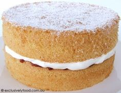 Exclusively Food: Sponge Cake Recipe