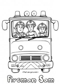free printable fireman sam and penny morris coloring pages for kidsprint out firefighter sam and penny morris elvis cridlington coloring pages for