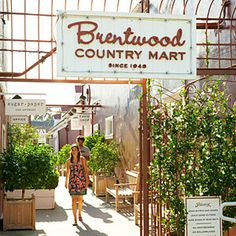 Brentwood Country Mart shop - Santa Monica, CA