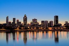 Montréal from the river!