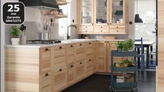 Design drive details, high quality materials and luxe finishes, here are 25 IKEA kitchens we'd love to cook in! Ikea Ringhult, Ikea Kitchen Inspiration, Green Countertops, Mason Jars, Kitchen Planner, Design Your Kitchen, Cottage Kitchens, Kitchen Worktop, Kitchen Cabinets