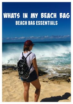 These beach bag essentials are things I always carry with my and will have you ready for a perfect day of fun in the sun at the beach!