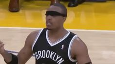 New trendy GIF/ Giphy. nba basketball confused shocked huh paul pierce brooklyn nets blindfold what just happened where am i blindfolded. Let like/ repin/ follow @cutephonecases