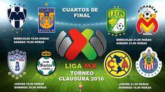 Blog de palma2mex : Liga MX Fechas y horario de la Liguilla