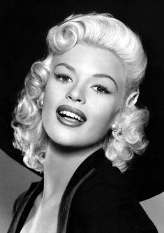 Jayne Mansfield was an American actress born on April in Bryn Mawr, Pennsylvania. A provocateur of her time, she gained fame and pin-up status during the and was offered roles in several films such as Kiss Them for Me The Sheriff of Fractured Jaw Old Hollywood Glamour, Golden Age Of Hollywood, Classic Hollywood, Celebrity Babies, Celebrity Photos, Celebrity Style, 50s Actresses, Old Hollywood Actresses, Janes Mansfield