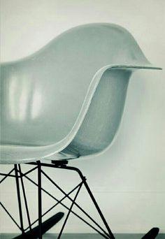 eames eiffel chair in  duck grey