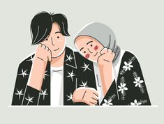 Couple Illustration, Character Illustration, Design Inspiration, Illustrations, Graphic Design, Poses, Couples, Drawings, Keyboard