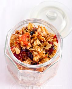 Sweetly Spiced Holiday Granola