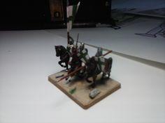 Caballeros de San Lázaro DBA 15 mms, figuras de Mirliton