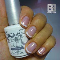 Gelish # french nails