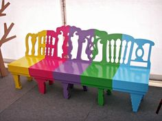 the Lollipop bench