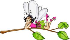 Fairy on Branch