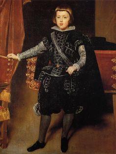 Diego Velazquez - Prince Baltasar Carlos (oil on canvas, c.1639)