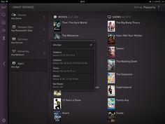 Fanhattan iPad UI