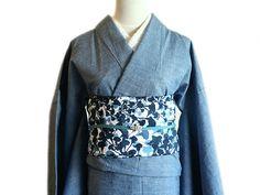denim kimono is wearable all year around daily